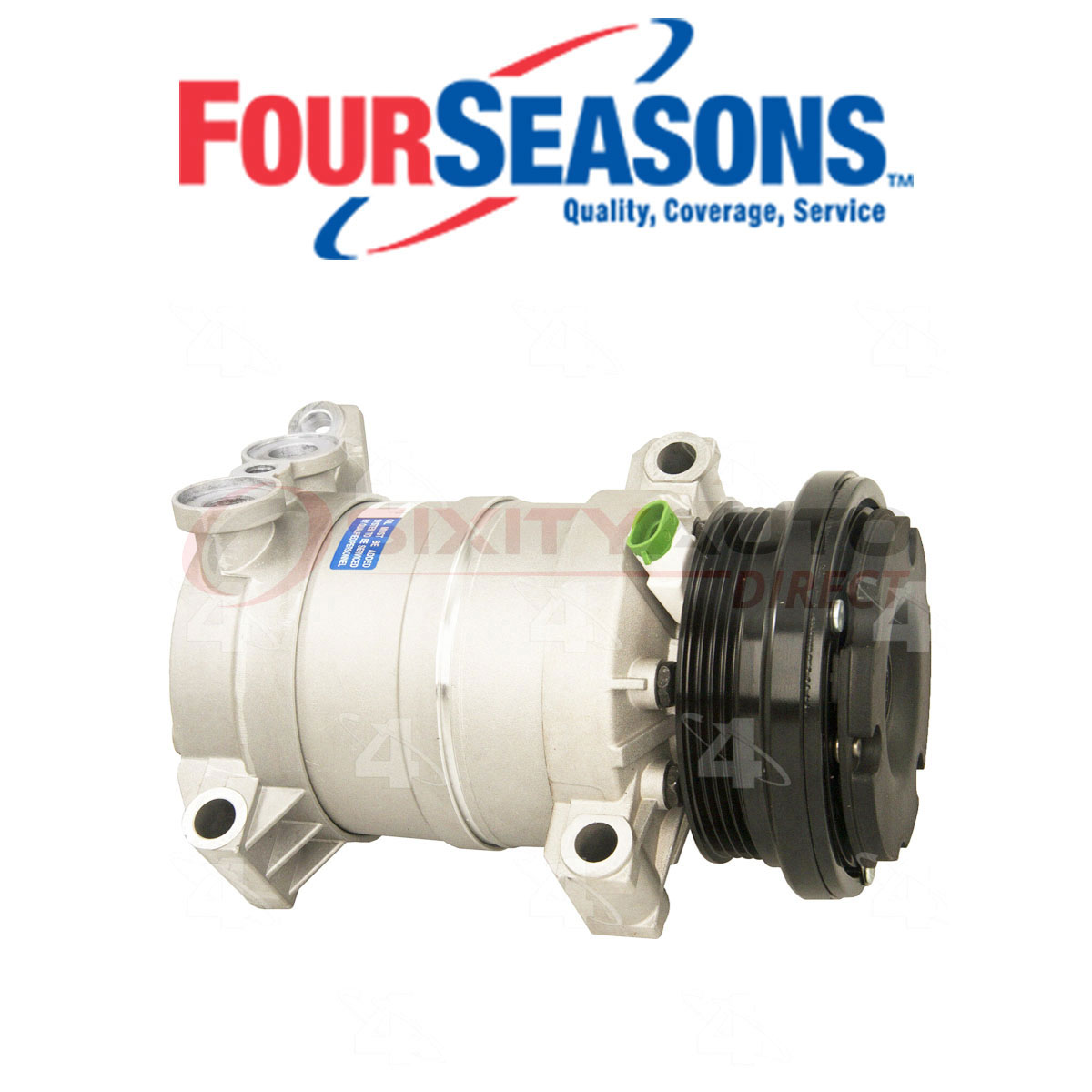 New Four Seasons or Equivalent A/C Aftermarket Compressor and ...
