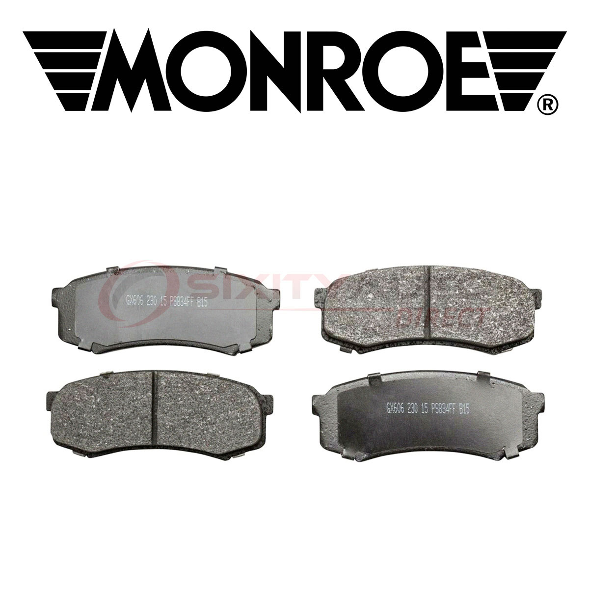 1990 1991 1992 1993 For Toyota Land Cruiser Front Ceramic Brake Pads