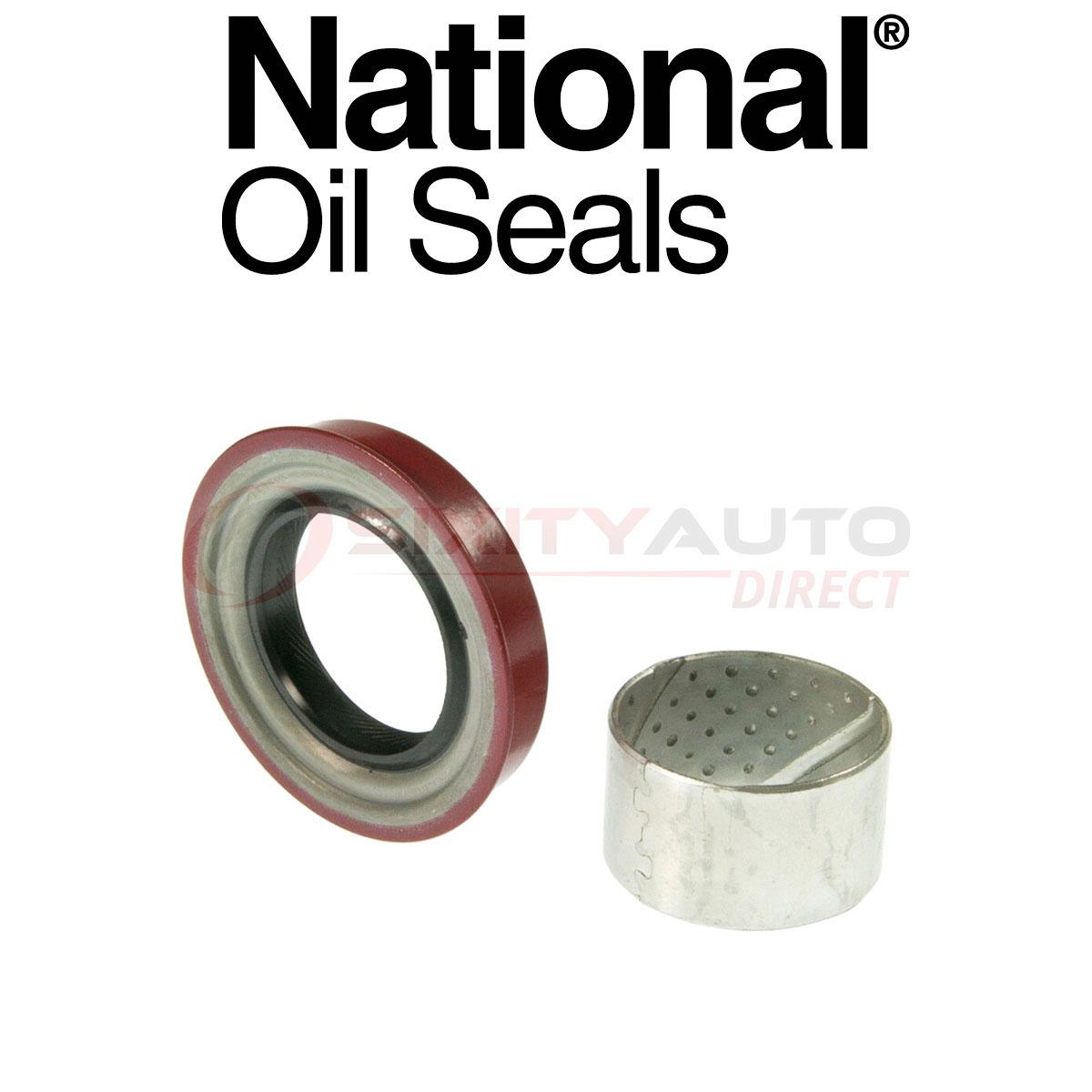National Auto Trans Output Shaft Seal for 1995-1998 Nissan 200SX 1.6L 2.0L lt