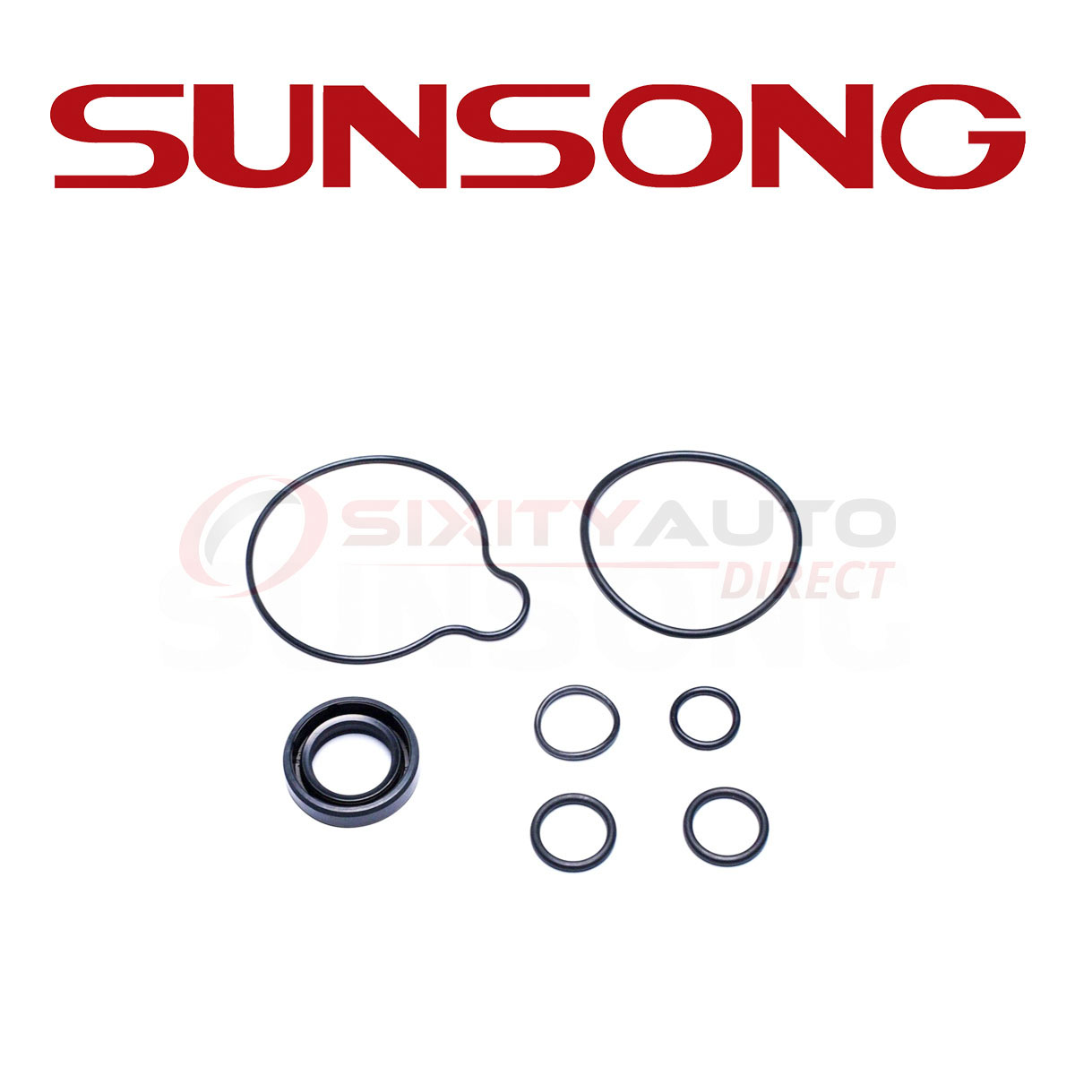 Sunsong Power Steering Pump Seal Kit For 2001-2002 Acura