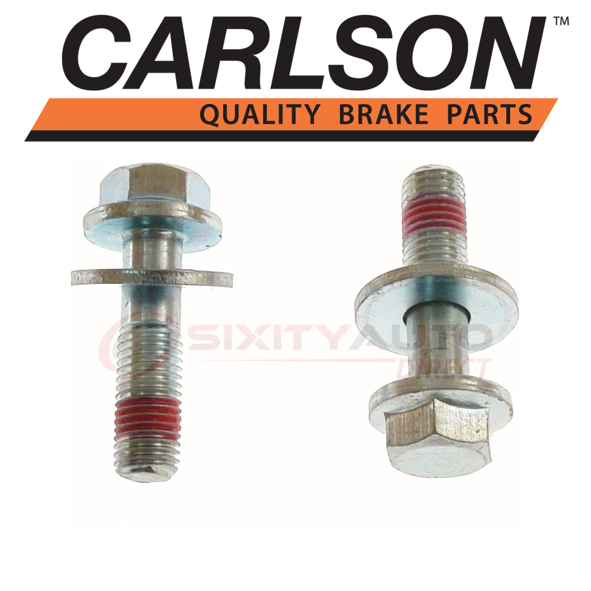 Disc Brake Caliper Bracket Mounting Bolt Front Carlson H819
