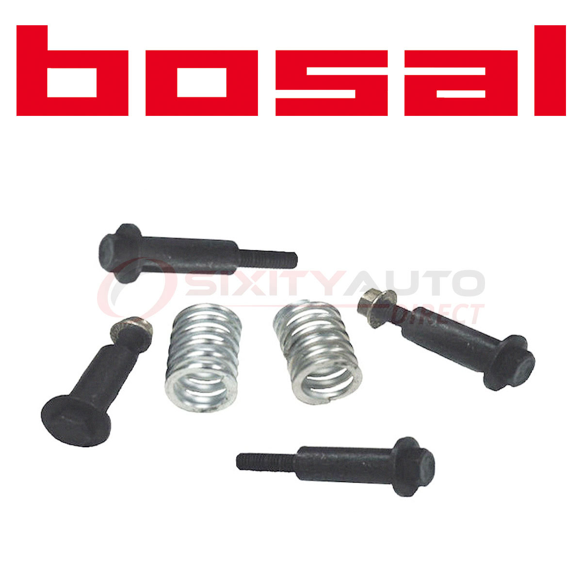 Bosal Exhaust Pipe Bolt Nut Spring Kit For 1988-2001 Acura