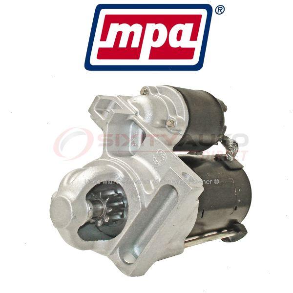 mpa starter motor for 1999 2006 pontiac montana electrical charging ud ebay ebay