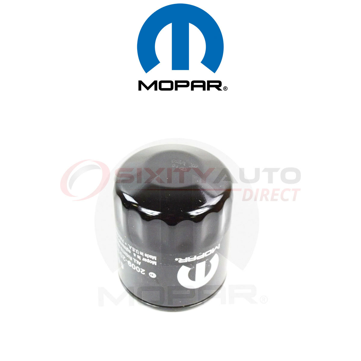 Mopar Engine Oil Filter For 1997-2007 Dodge Caravan 2 4l 3 3l L4 V6