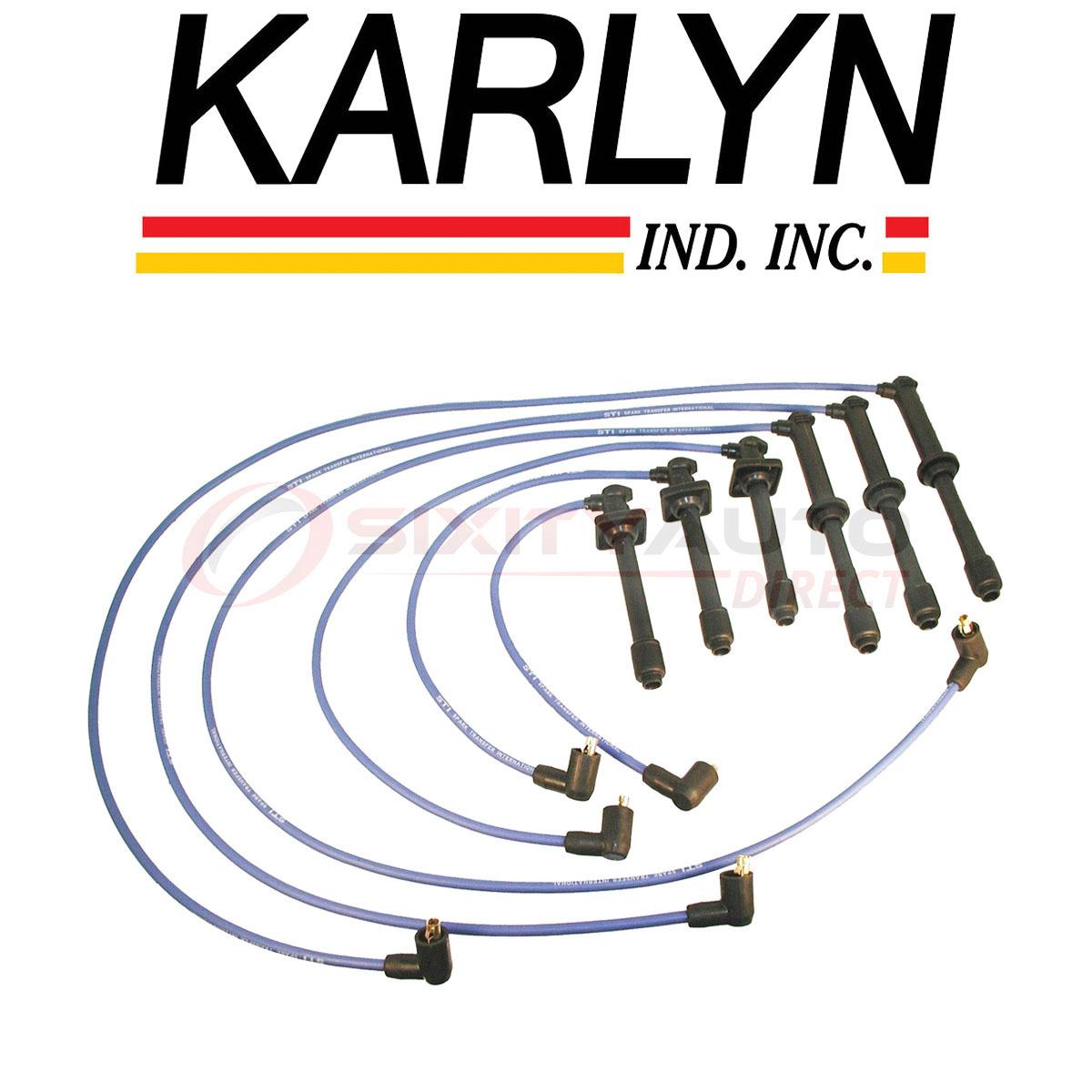 Karlyn STI STI Spark Plug Wire Set for 1996-1997 Mazda 626 ...
