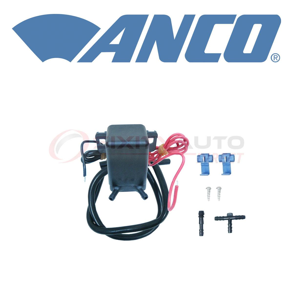 Anco Windshield Washer Pump For 2003-2004 Bmw 760li 6 0l V12