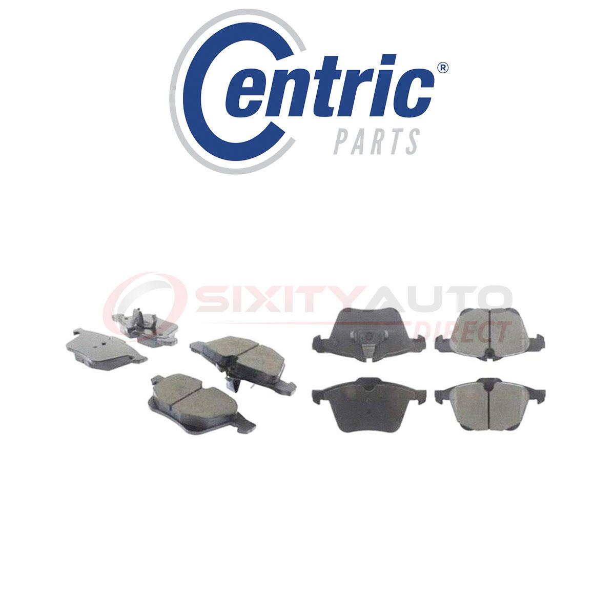 Disc Brake Pad Set-Premium Ceramic Pads with Shims Rear Centric 301.18980