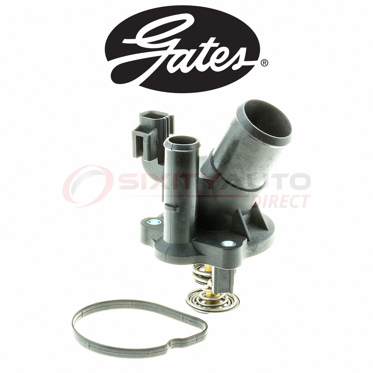 Gates Coolant Thermostat for 1987-2003 Dodge Dakota 2.5L L4 3.9L V6 5.2L dz