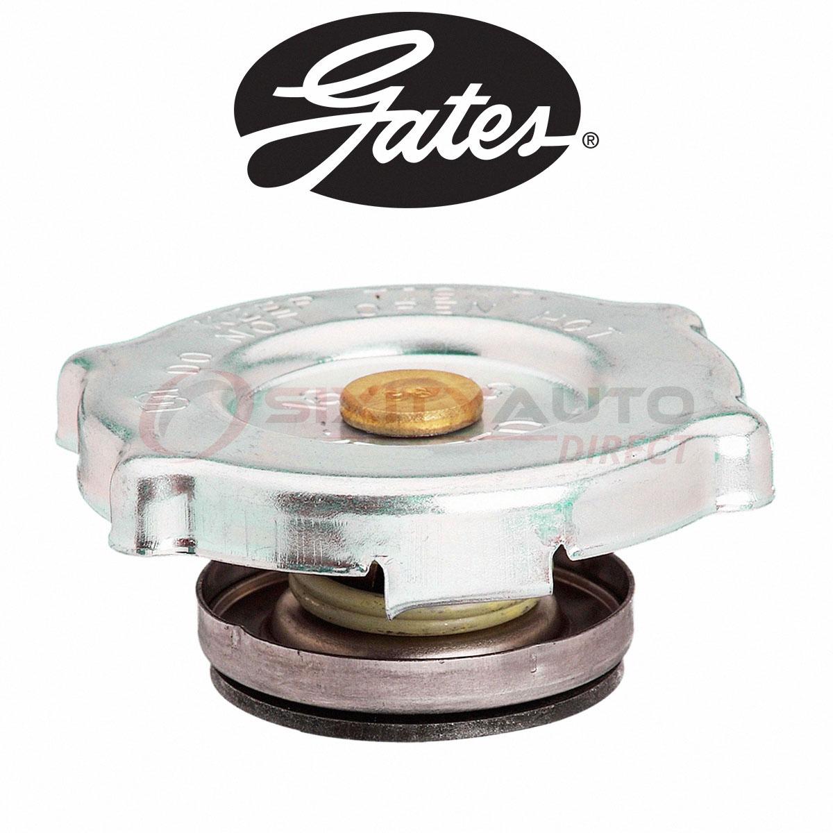Gates Radiator Cap for 1970-1974 Plymouth Cuda 7.0L 7.2L 5.2L 5.9L 6.3L 5.6L jh