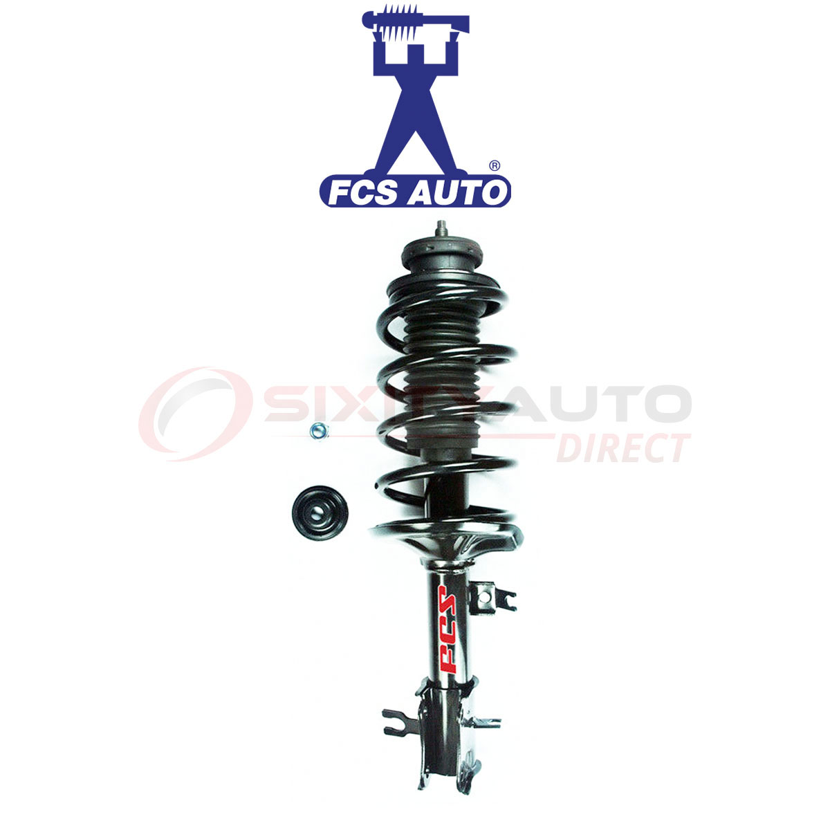 Suspension Strut and Coil Spring Assembly Front FCS 1332348
