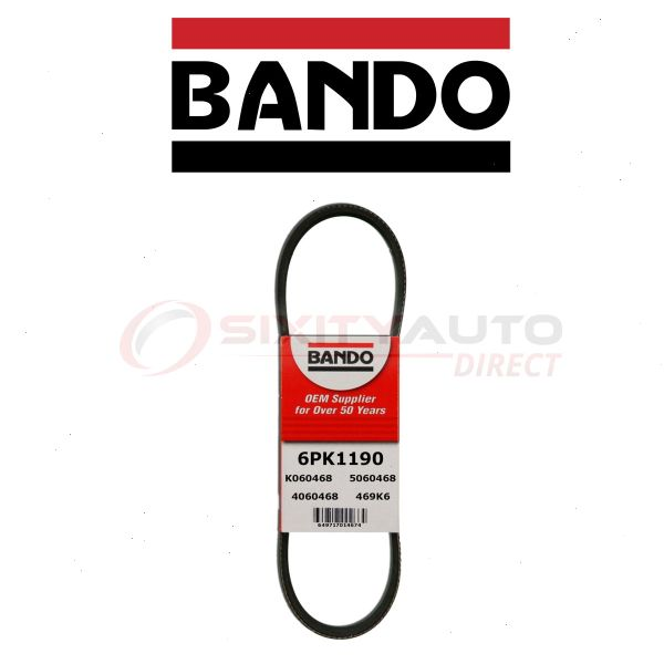 Bando Serpentine Belt For 2013 Acura TL 3.7L V6