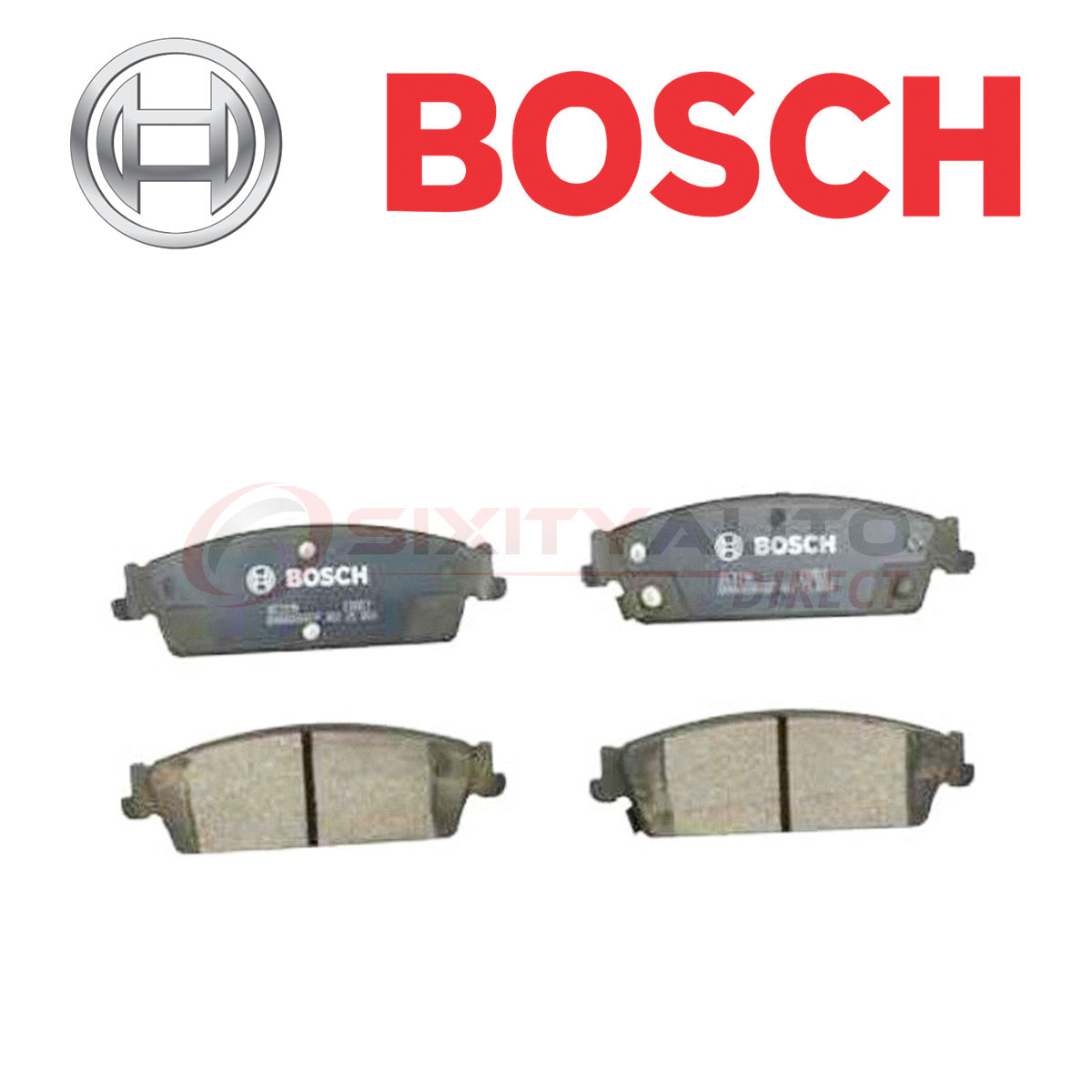 Bosch QuietCast Ceramic Brake Pads For 2007-2014 Cadillac