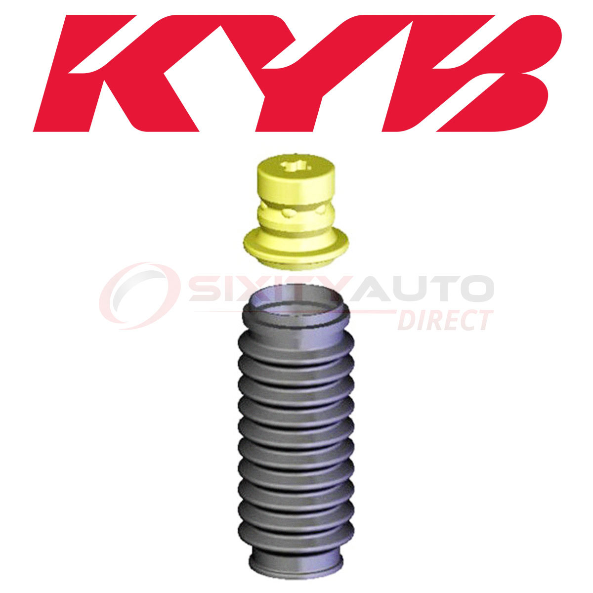 KYB Suspension Strut Bellows Boots For 2004-2010 Acura TSX