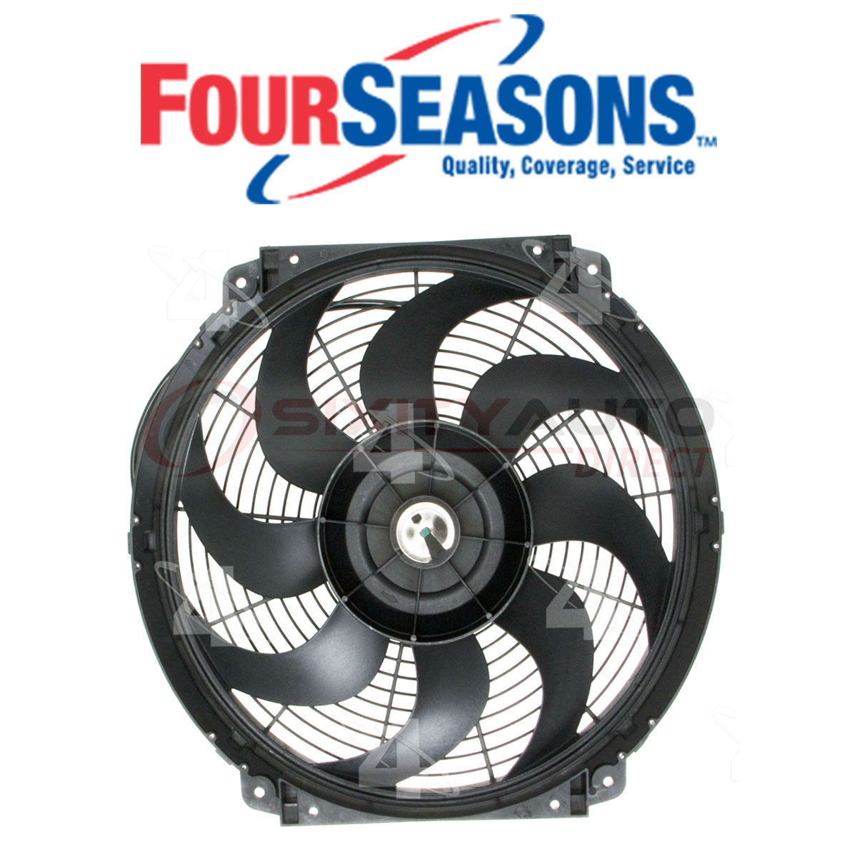 36895 4-Seasons Four-Seasons Cooling Fan Assembly New for Ram 50 Pickup 2000 S15