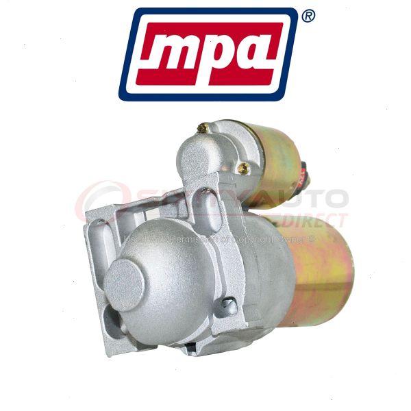 Mpa Starter Motor For 2003 Isuzu Ascender