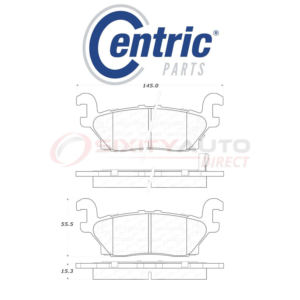 Centric 103.08040 Brake Pad