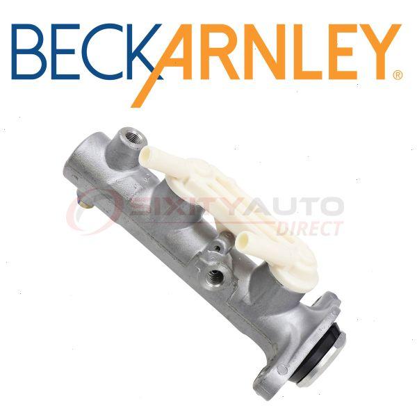 Beck Arnley 072-9707 Brake Master Cylinder