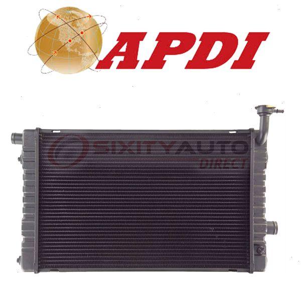 Cooler Cooling Antifreeze lz APDI Radiator for 1981-1991 Chevrolet G30