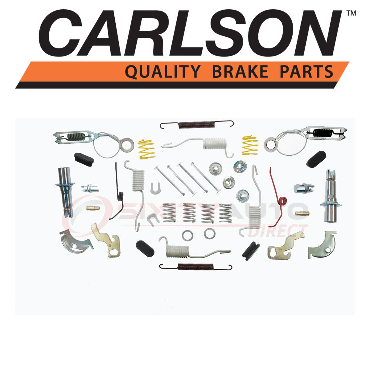 Shoe yn Carlson Rear Drum Brake Hardware Kit for 1990-2006 Jeep Wrangler