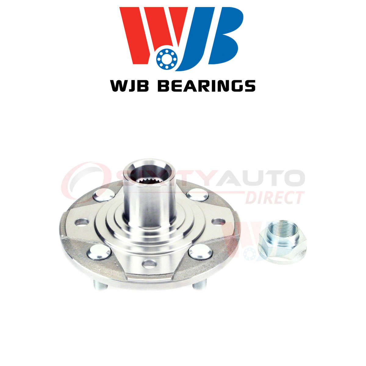 WJB Wheel Hub For 1997 Acura CL 2.2L L4 - Axle Tire Vl