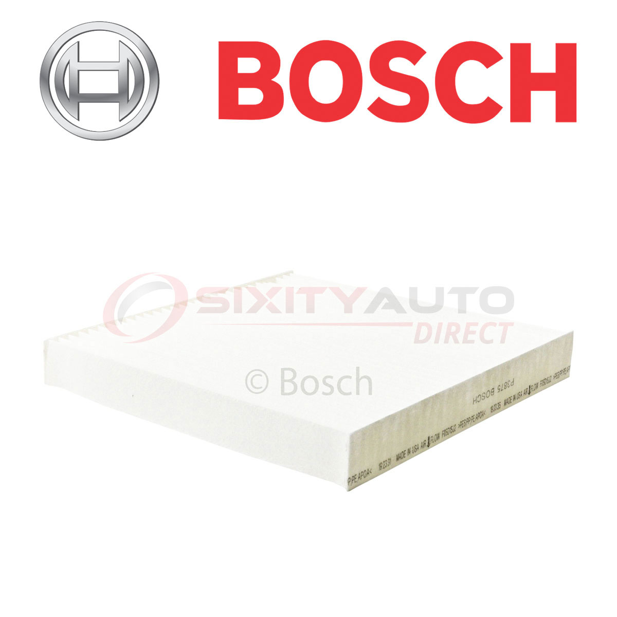 Bosch Cabin Air Filter For 2007-2017 Acura MDX 3.5L 3.7L