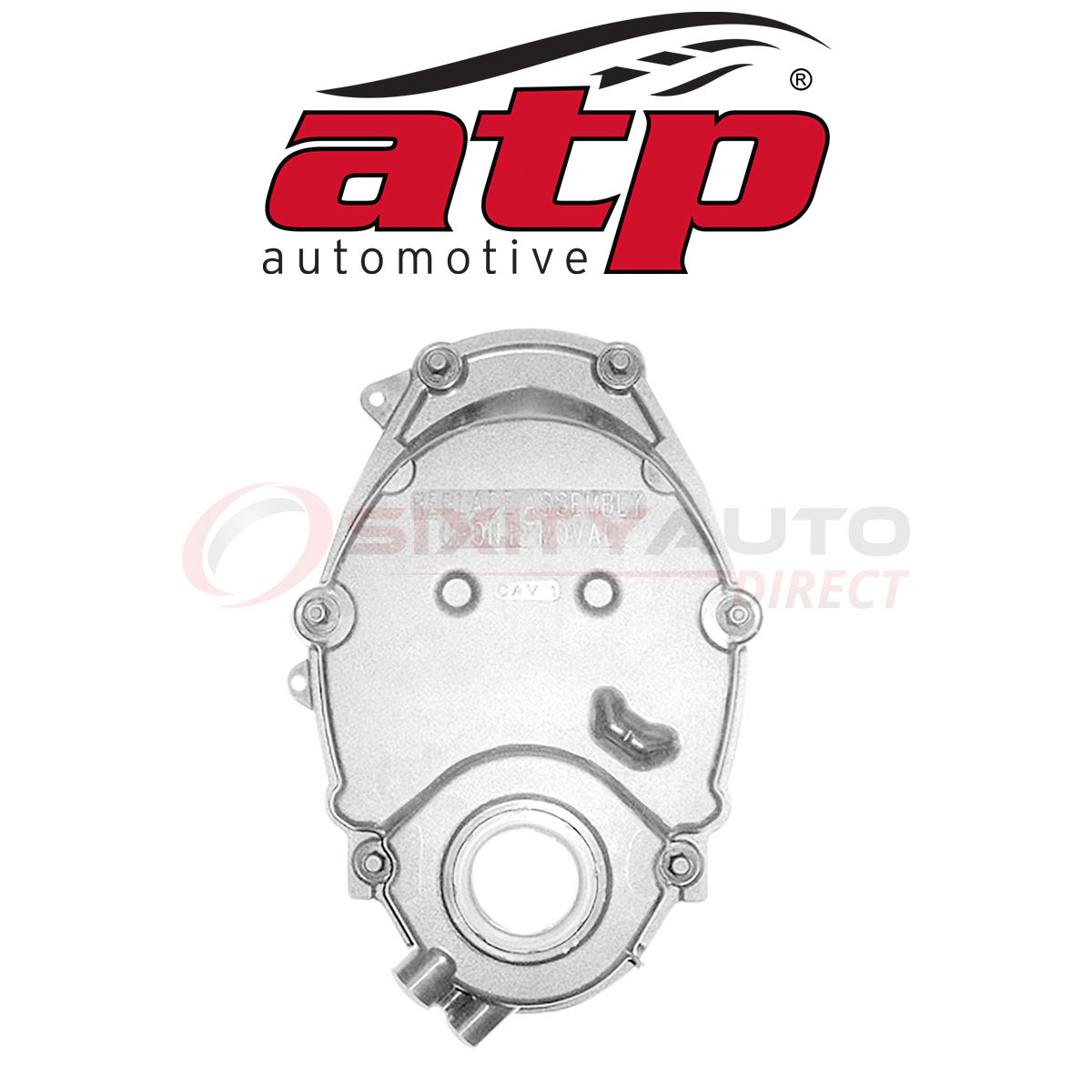 Engine fm ATP Automotive Timing Cover for 1996-1998 Chevrolet K1500 4.3L V6
