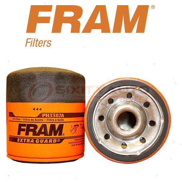 FRAM Engine Oil Filter For 1981-1982 Cadillac Seville
