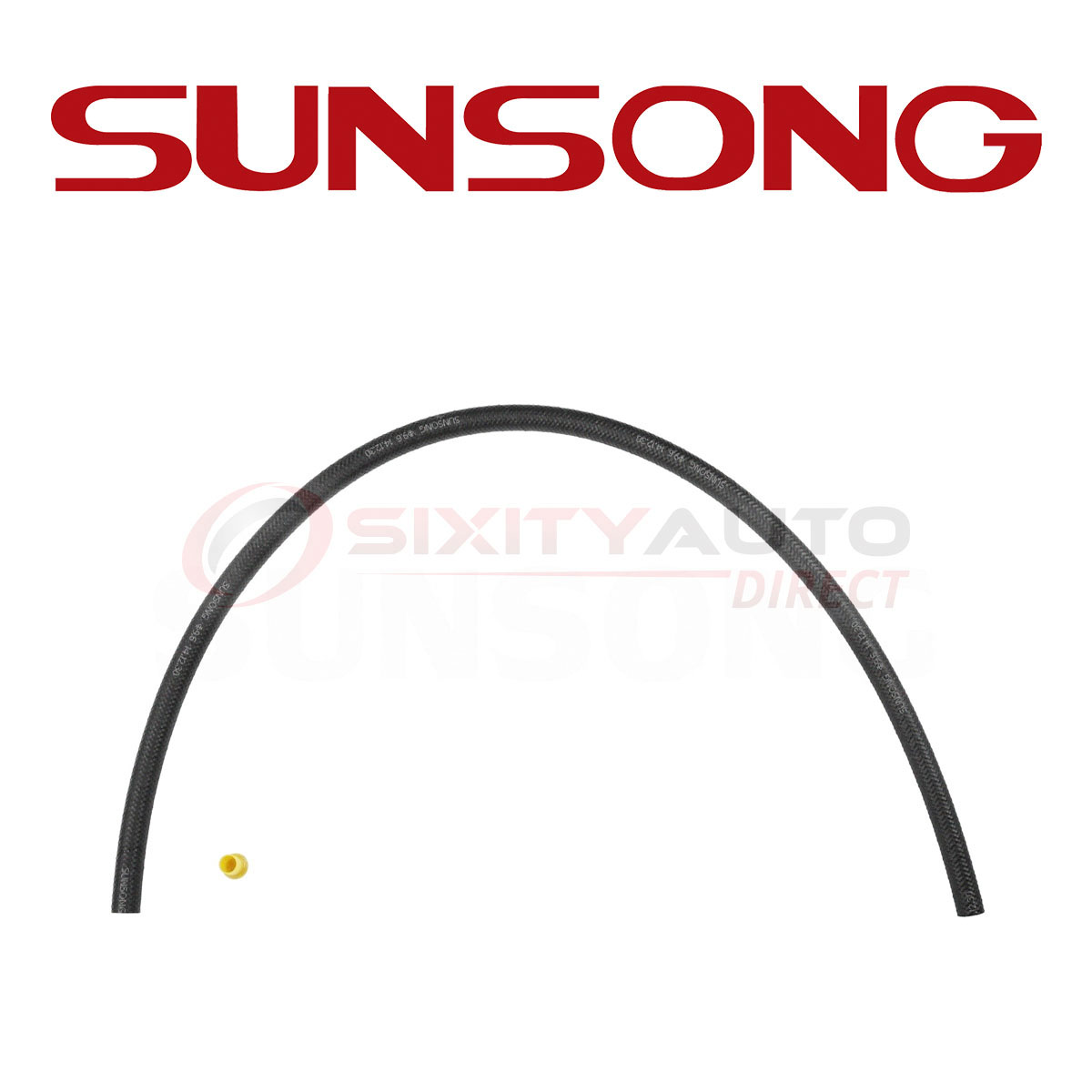 Sunsong Power Steering Return Hose For 1971-1994 Cadillac