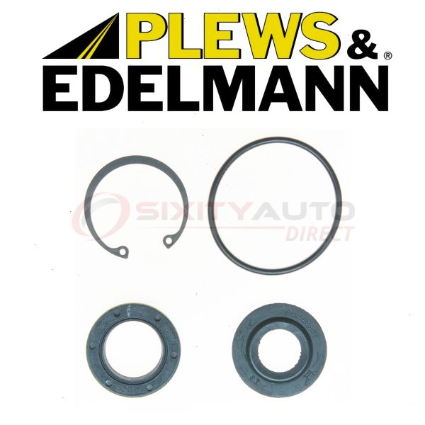 Centric Steering Rack /& Pinion Bellow Kit for 2003-2009 GMC Envoy 4.2L 5.3L dy