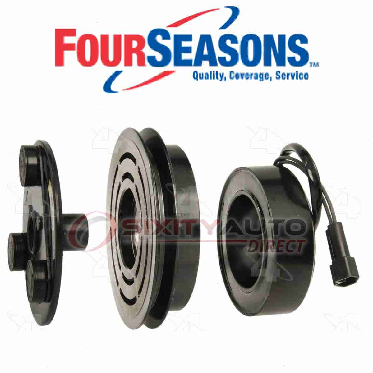 Four Seasons Ac Compressor Clutch For 1987