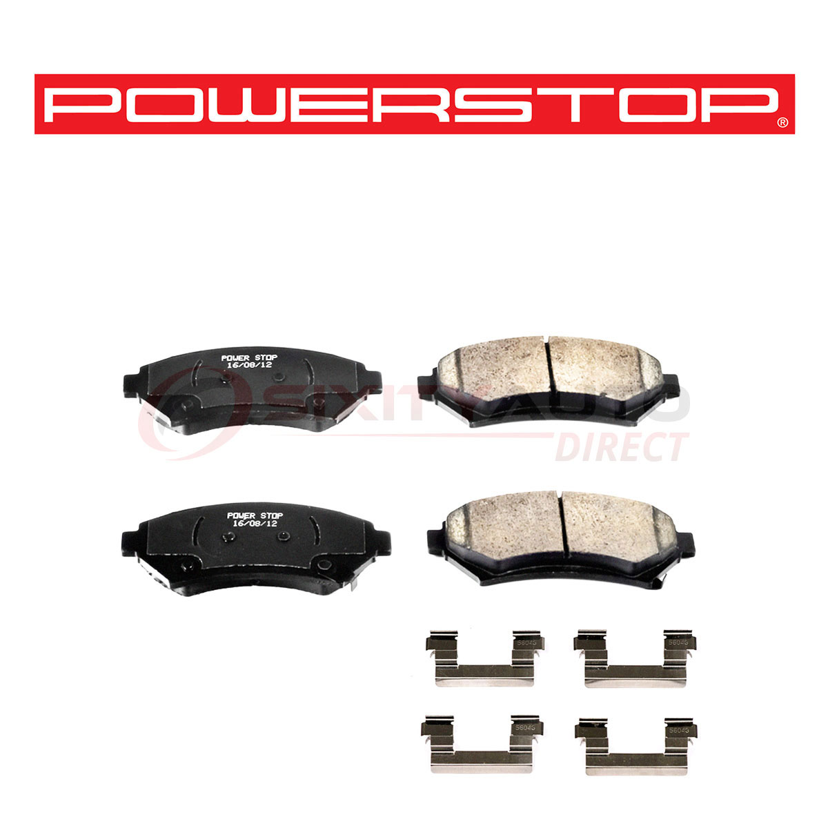 Hawk HB131M.595 Black Motorsports Brake Pads Front For 94-96 Chevy Impala NEW