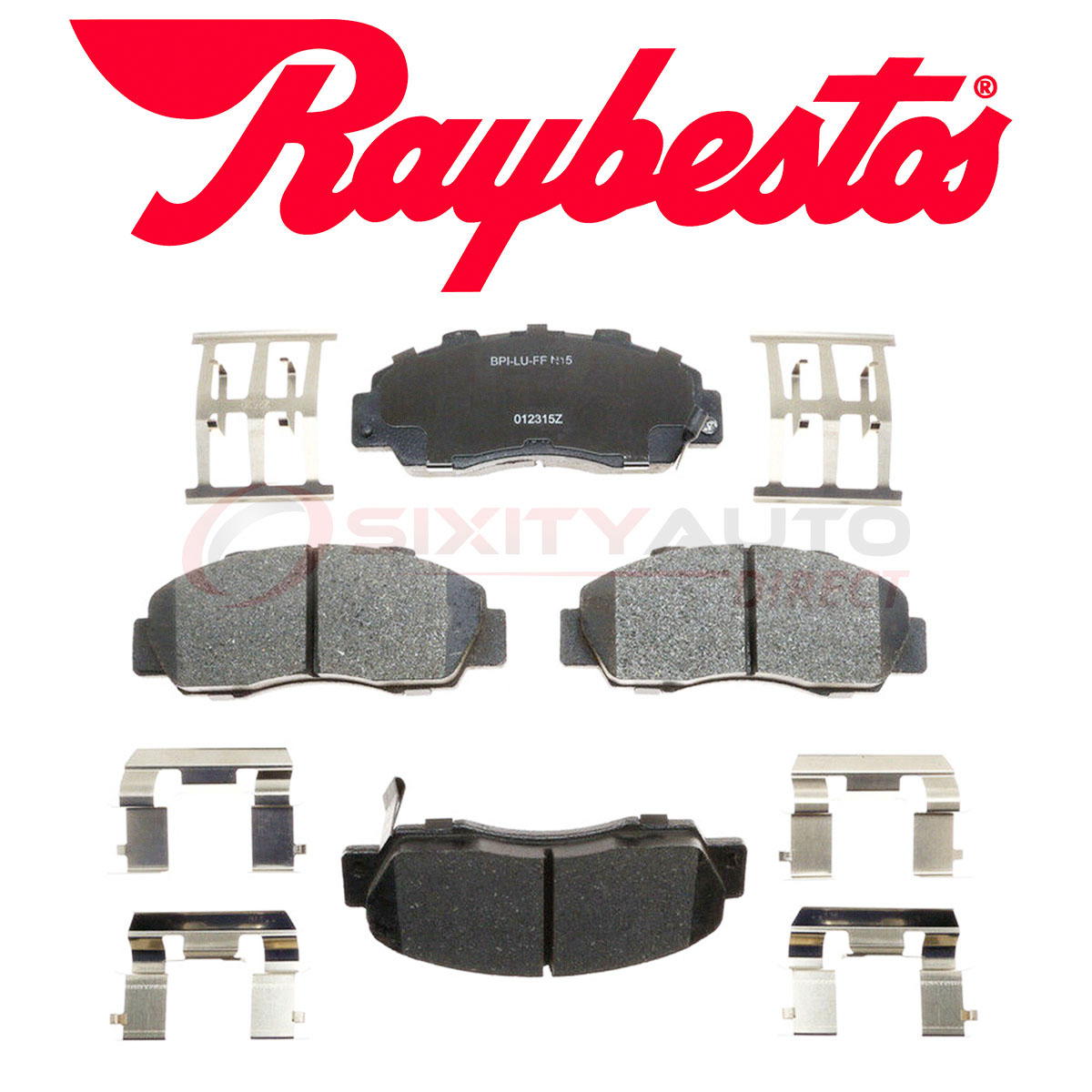 Raybestos Reliant Ceramic Disc Brake Pads For 1995-2005