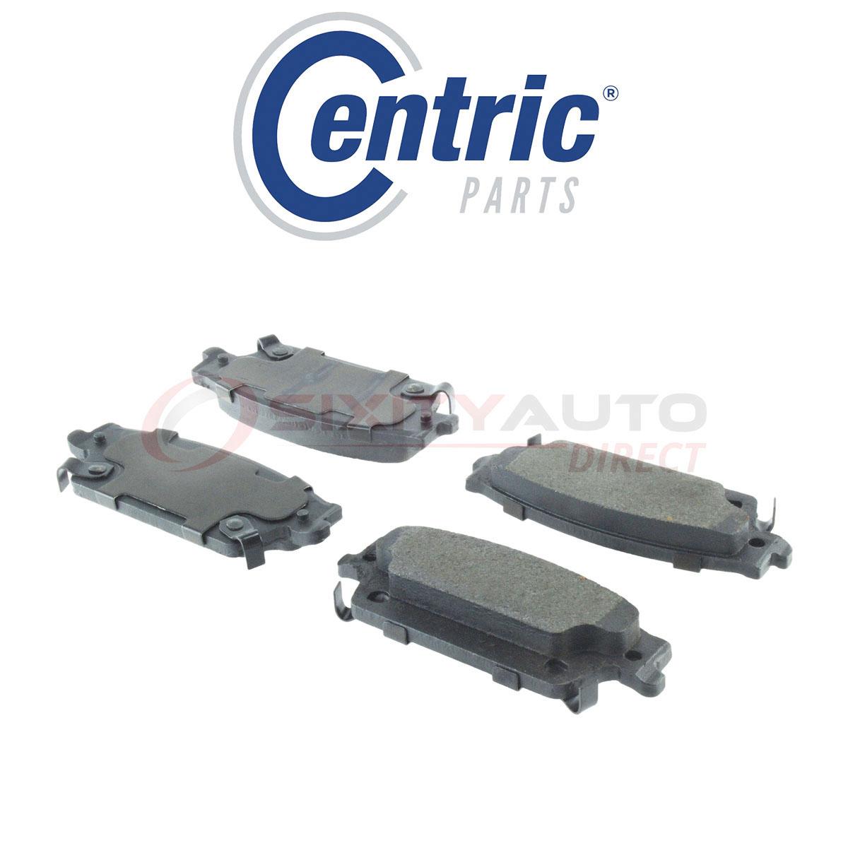 Centric Parts 104.05990 104 Series Semi Metallic Standard Brake Pad