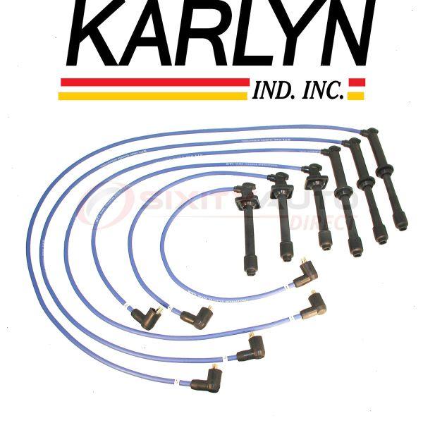 Cable Master Spark Plug Wires Compatible with Kia Sorento DOHC 3.5L V6 2003-2006