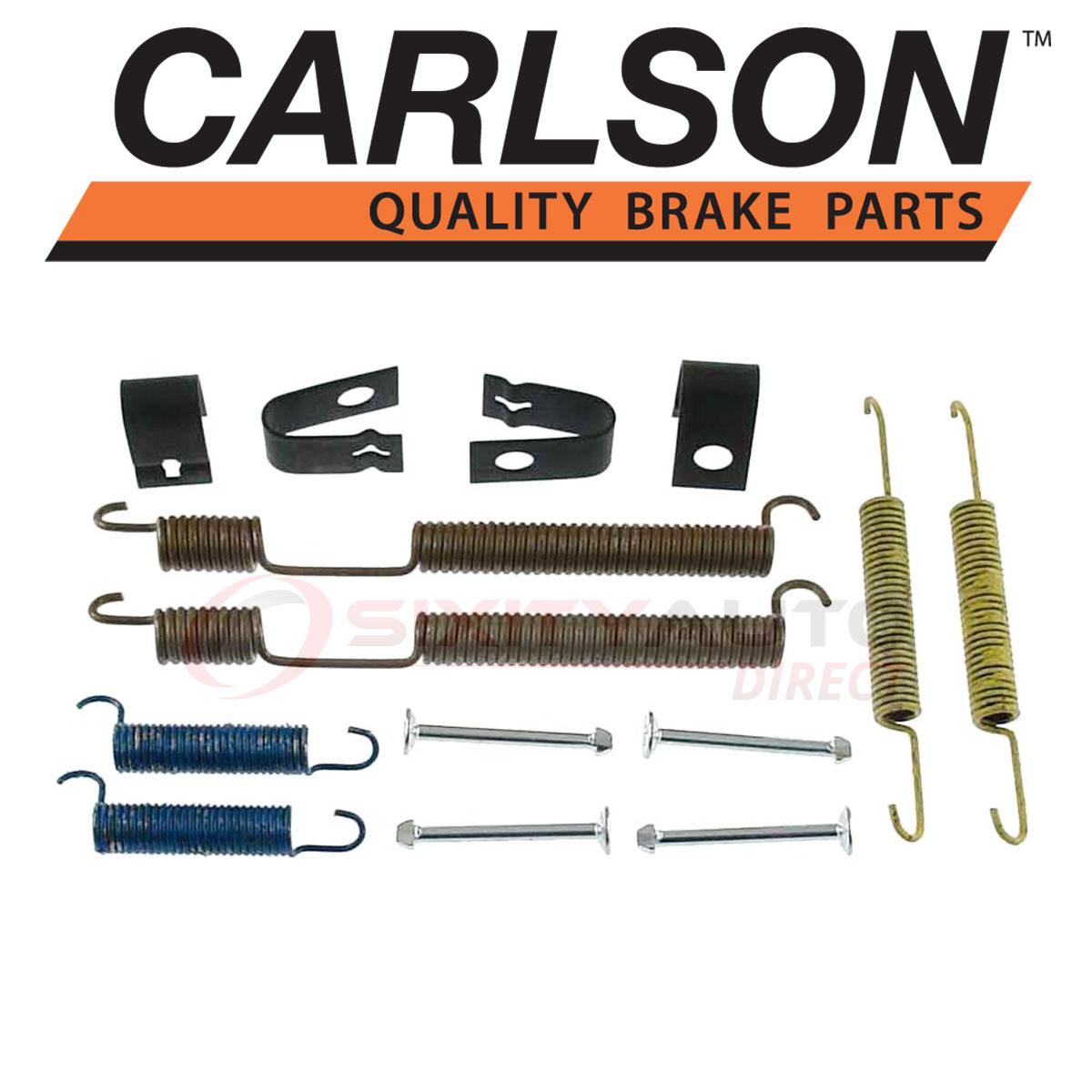 Carlson Rear Drum Brake Hardware Kit for 1976-1997 Ford F-350 Shoe uz