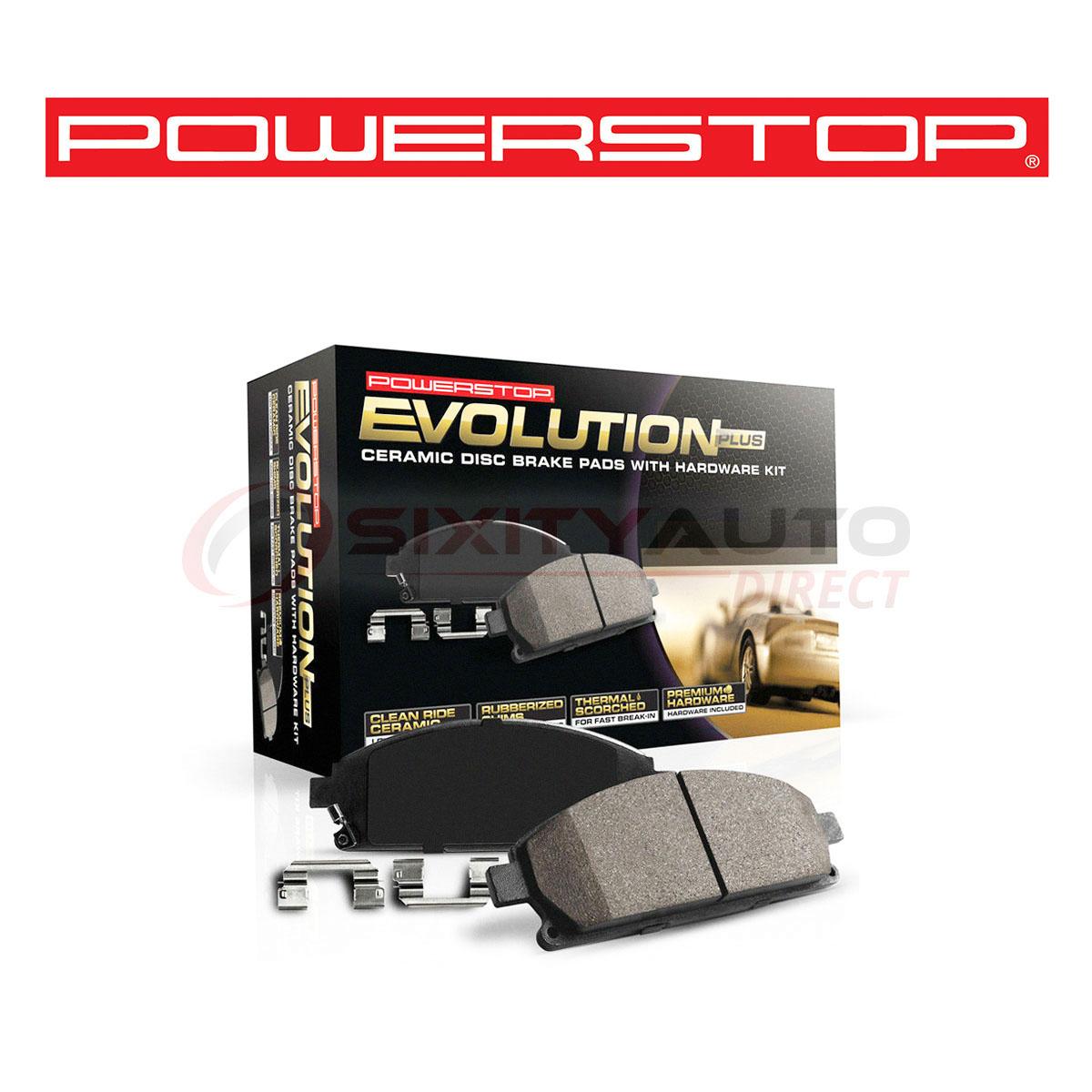 Power Stop Z17 Evolution Plus Disc Brake Pads For 2011