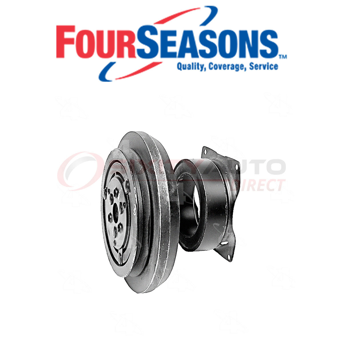 A//C Compressor Clutch-Clutch Assy 4 Seasons 48812 Reman