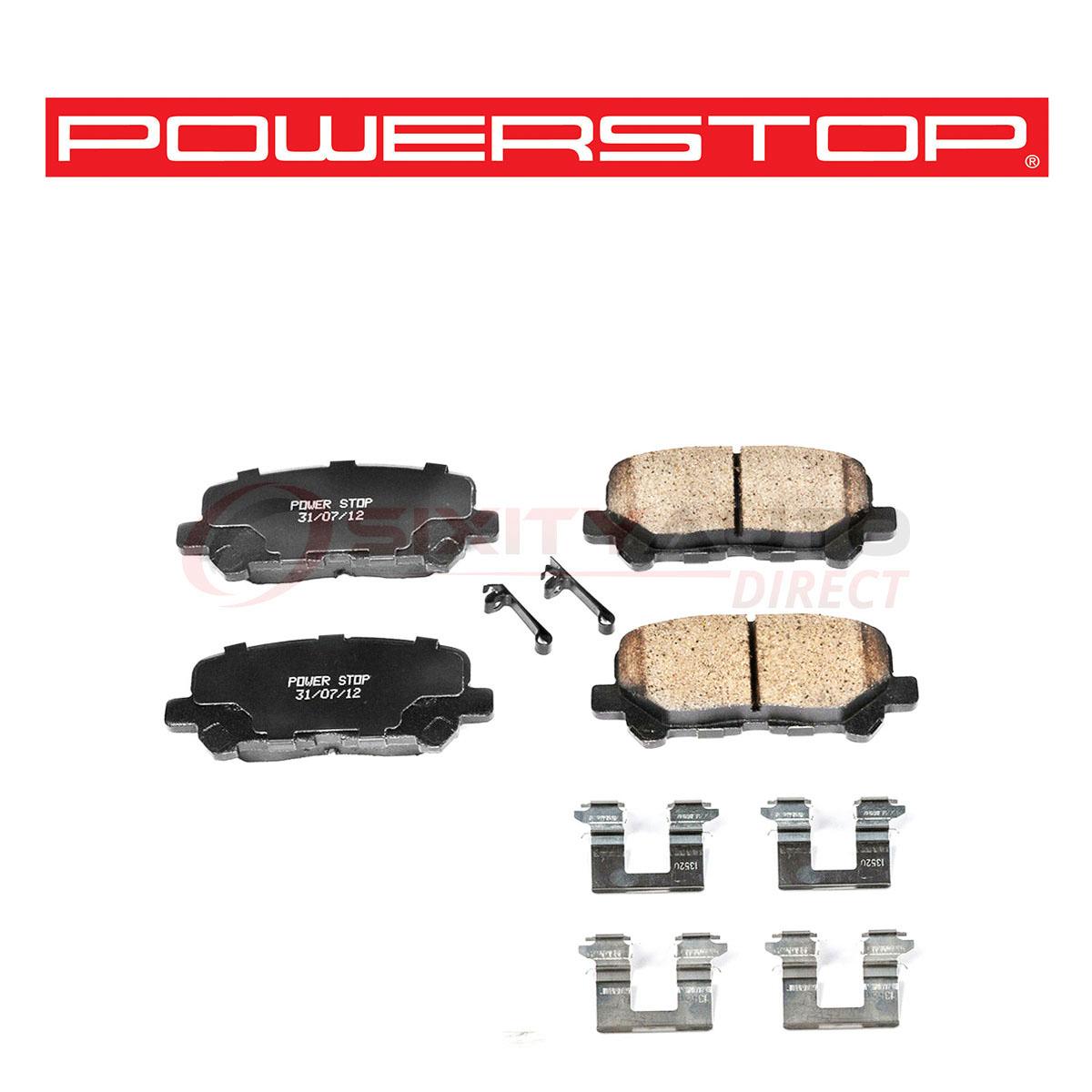 Power Stop Z17 Evolution Plus Disc Brake Pad For 2012-2013