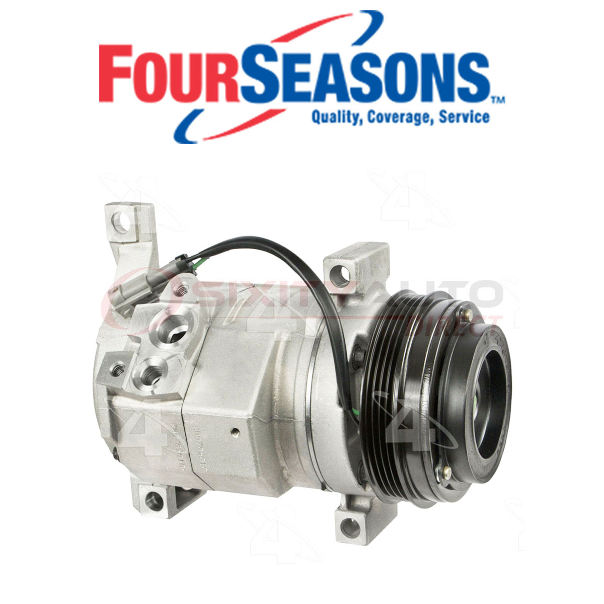 For 2003-2011 Chevrolet Silverado 2500 HD A//C Compressor 47112QR 2006 2004 2005