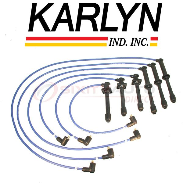 Karlyn Spark Plug Wire Set For 2004 Ford F