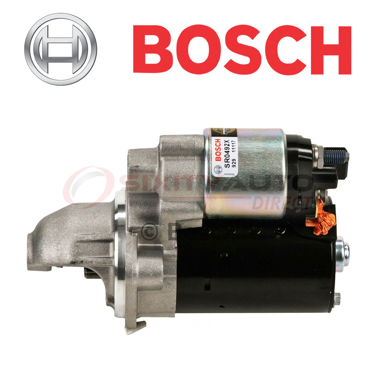 Bosch Starter Motor For 2009-2011 BMW 328i XDrive 3.0L L6
