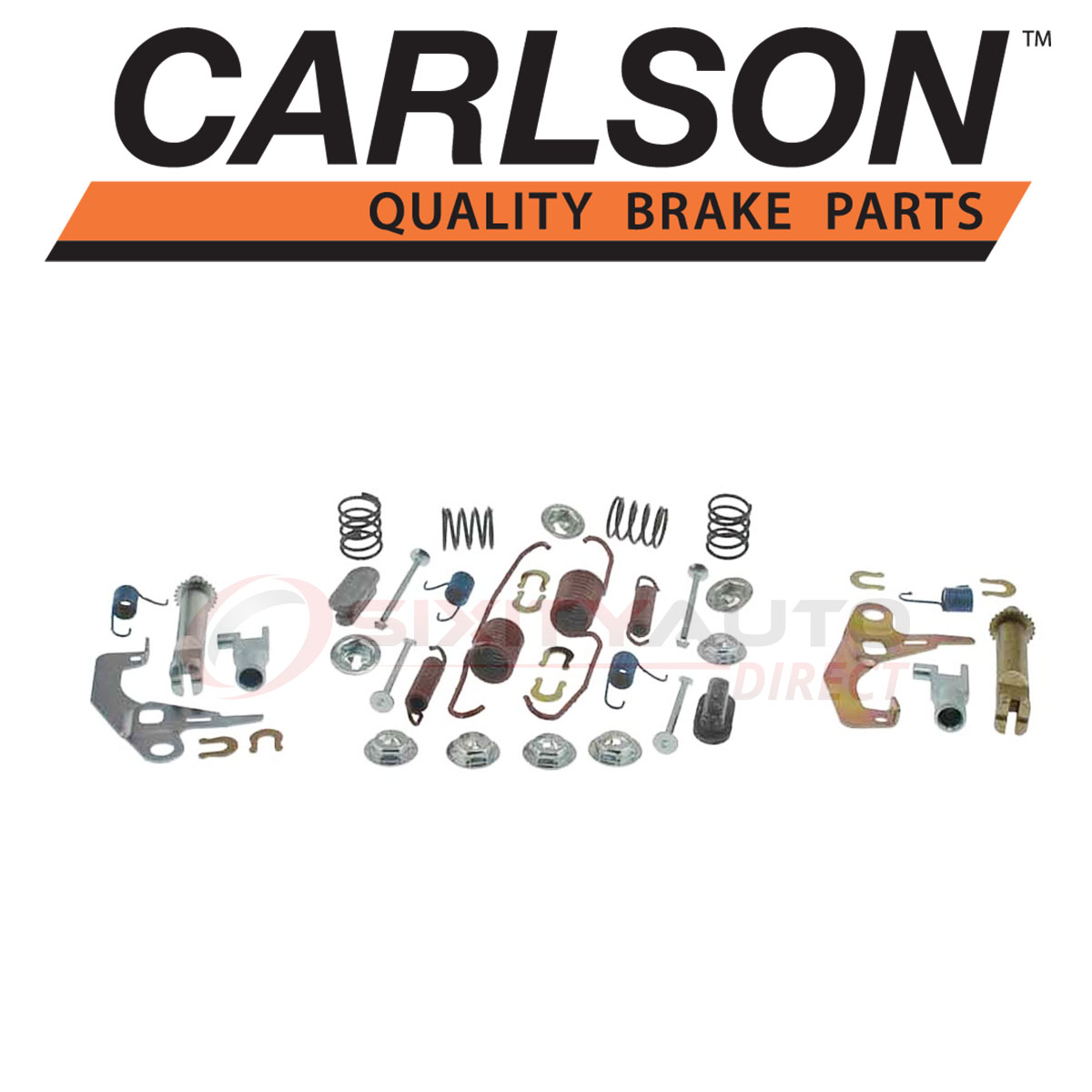 Shoe nx Carlson Rear Drum Brake Hardware Kit for 1989-2004 Nissan Pickup