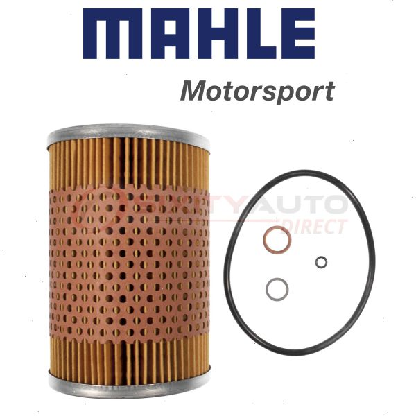 Oil Change Lubricant ng MAHLE Engine Oil Filter for 1985-1993 BMW 535i