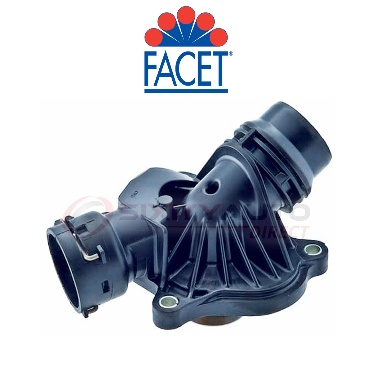 Facet Engine Coolant Thermostat For 2009 2013 Bmw X5 Cooling Housing Xy Ebay