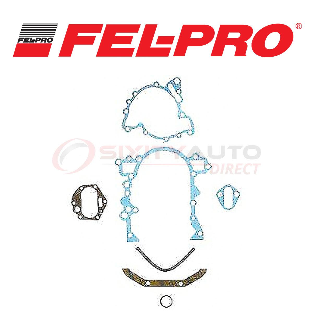 FEL-PRO TIMING COVER GASKET SET TCS 45951 FITS FORD LINC MERCURY V6 232 3.8L OHV