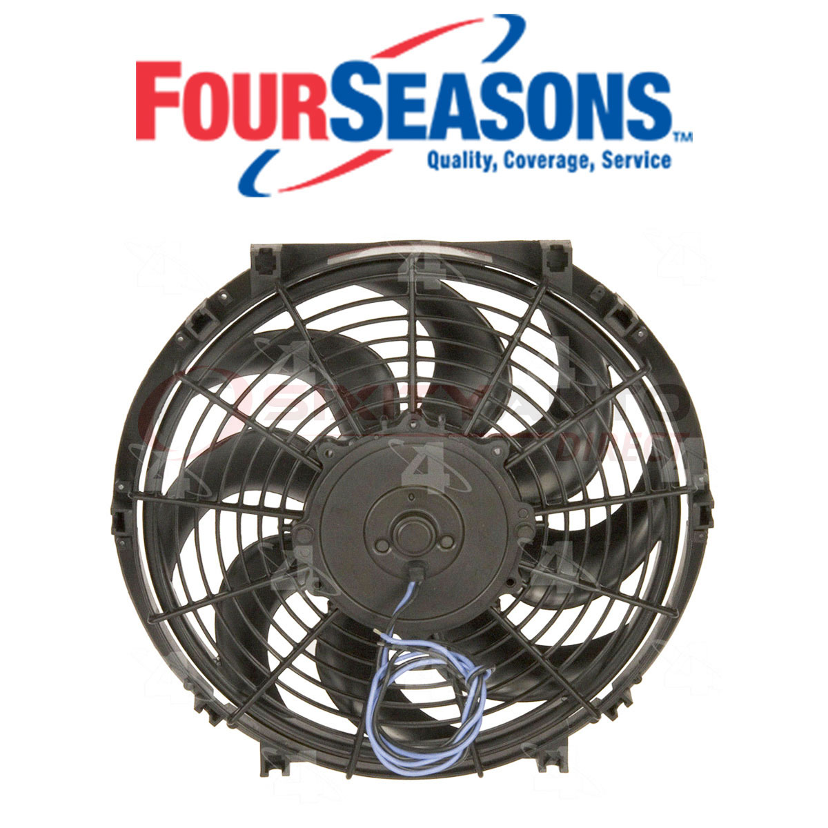 Four Seasons Electric Cooling Fan Kit For 2005-2007 Acura