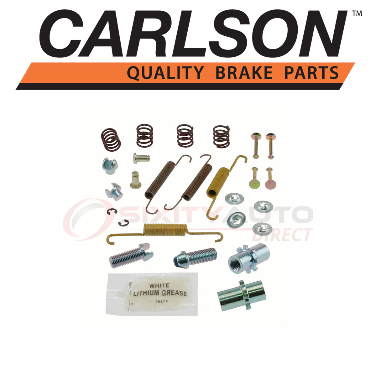 Carlson Quality Brake Parts 17395 Drum Brake Hardware Kit