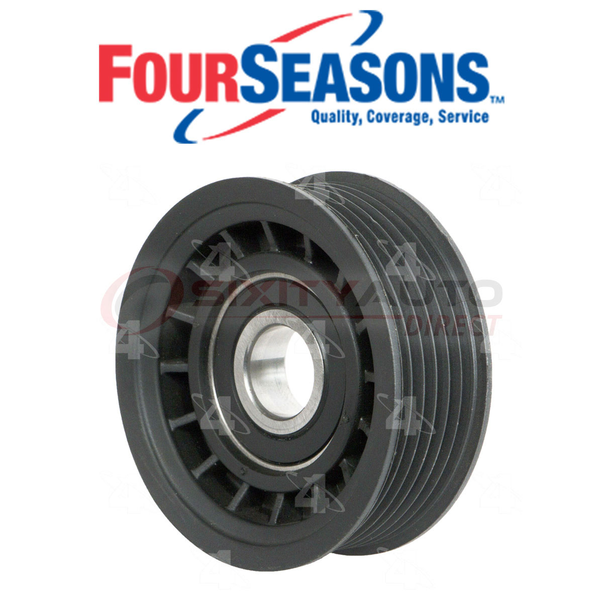 Four Seasons Drive Belt Idler Pulley For 1998-1999 Acura