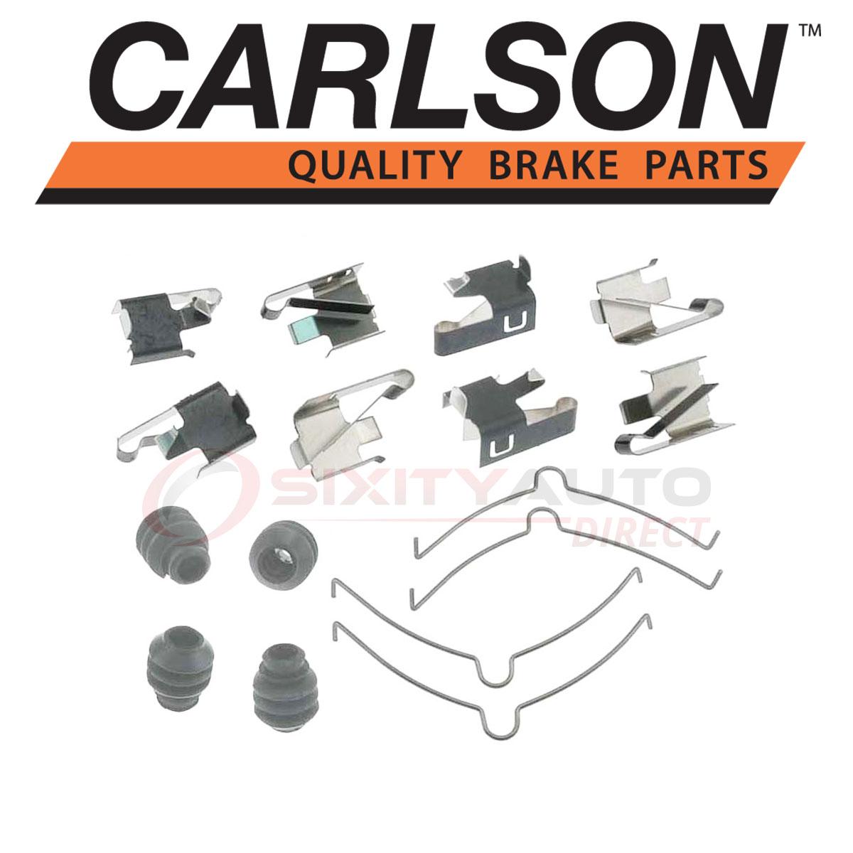 Pad Service Repair ur Carlson H5691Q Disc Brake Hardware Kit