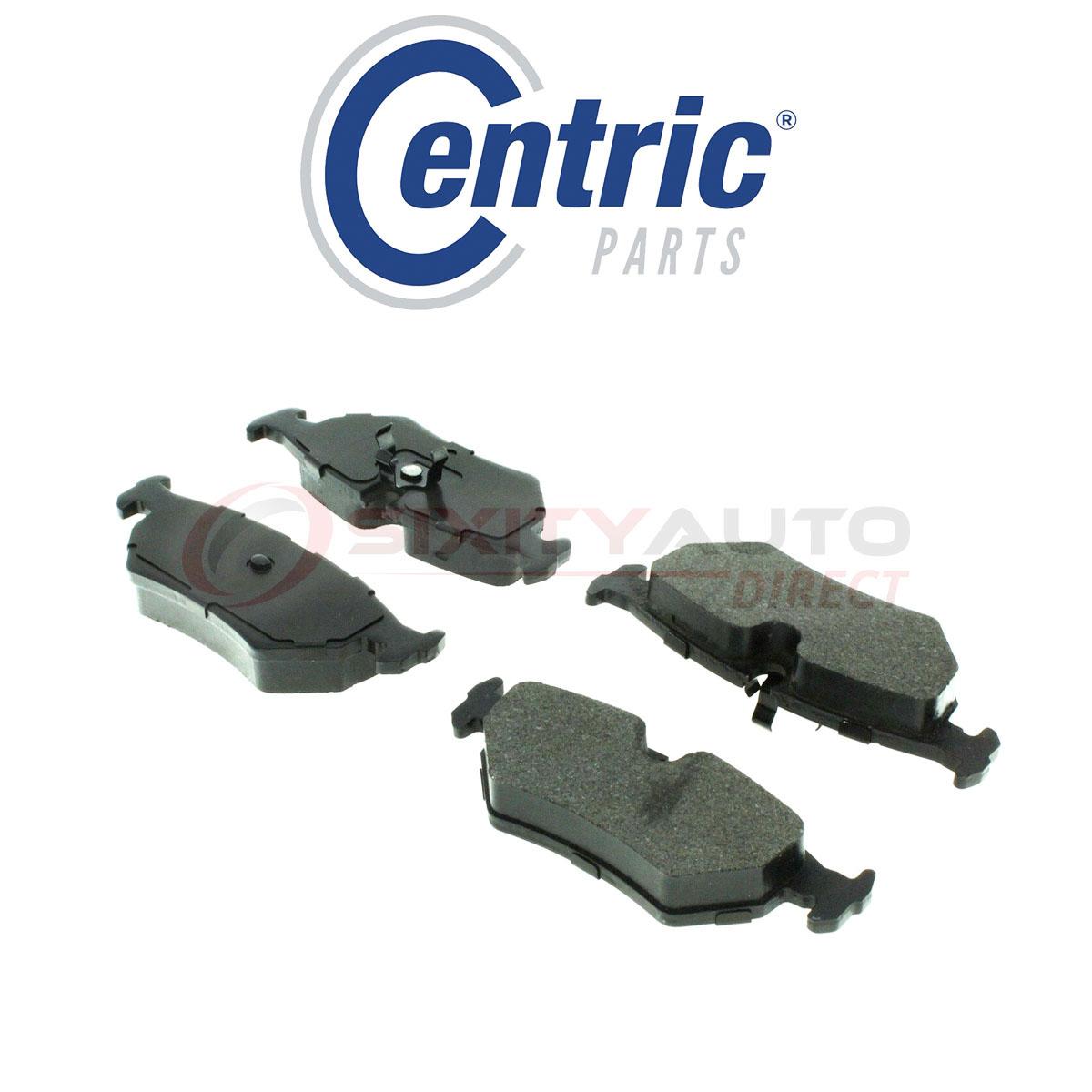 Centric C-TEK Metallic Disc Brake Pads For 1997-2004 Aston